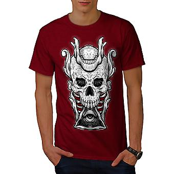 Sälber Horror Illuminati Skull hombres camiseta | Wellcoda