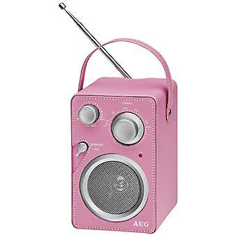 Conception de Radio AEG Monsieur 4144 Rosa