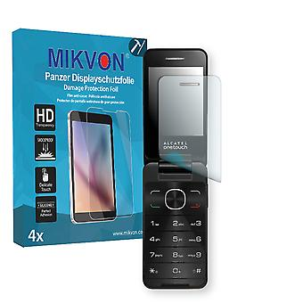 Alcatel OneTouch 20.12D Screen Protector - Mikvon Armor Screen Protector (Retail Package with accessories)
