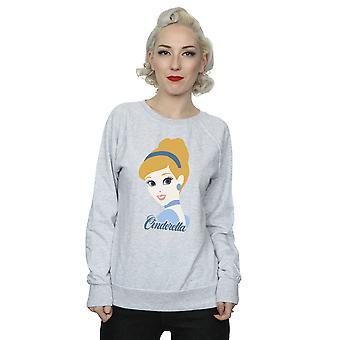 Disney Prinzessin Frauen Cinderella Silhouette Sweatshirt