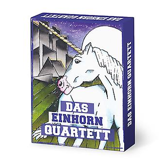 Unicorn Quartet 32 German cards Stardust Unicorn Quartet card game