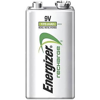 9 V / PP3 battery (rechargeable) NiMH Energizer Power Plus 6LR61