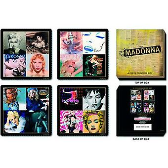 Madonna Coaster set Album covers new Official 4 pack