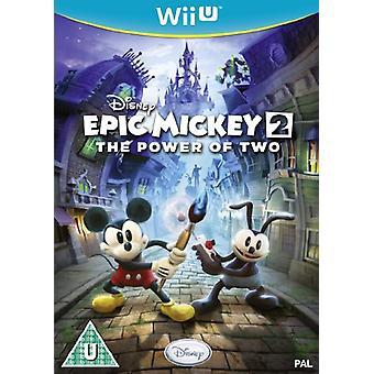 Disney Epic Mickey 2 the Power of Two (Nintendo Wii U)