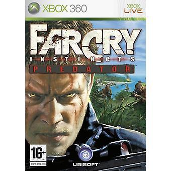 Far Cry instinkter Predator (Xbox 360)