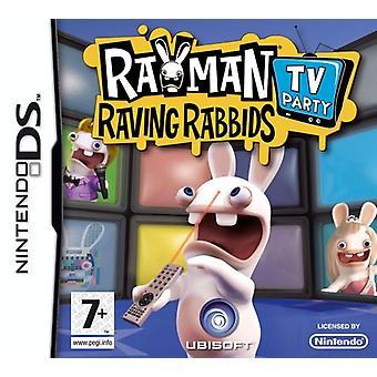 Rayman Raving Rabbids TV part (Nintendo DS)