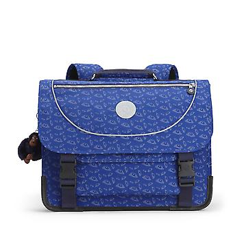 Kipling - Preppy Bat Eye - Boekentas Blauw