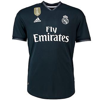 2018-2019 Real Madrid Adidas Authentic Away Football Shirt