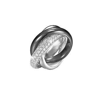 Esprit Collection Damen Ring Silber Zirkonia Periboa Gr.16 ELRG91620E160