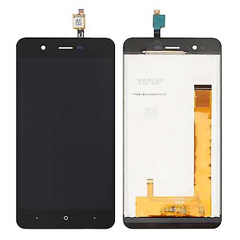 Display full LCD unit touch spare parts for WIKO Harry repair black new