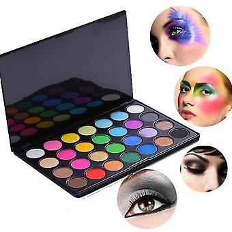 Eye shadows-28 PCs colors, outline palette with the fold lock