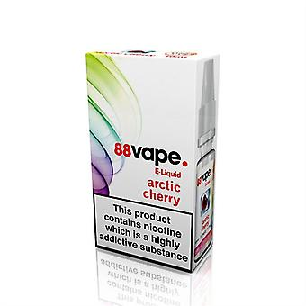 88 Vape E-Liquid Nicotine 16mg Arctic Cherry 10ML