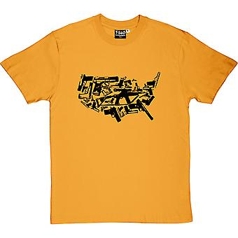 Land Of The Free Weapons Men's T-Shirt