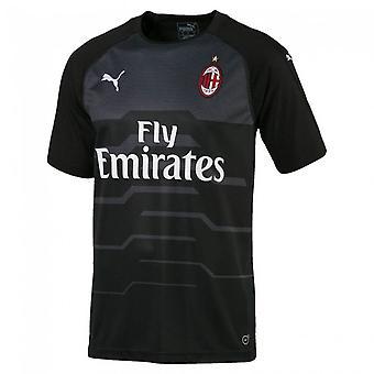 2018-2019 AC Milan Puma Away SS Goalkeeper Shirt (Black)