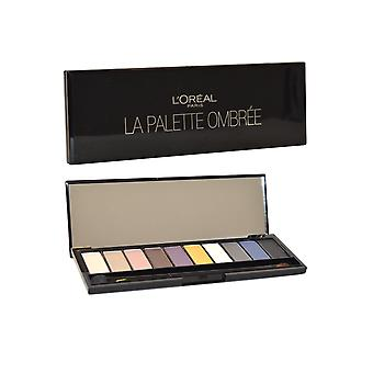 L'Oreal Color Riche La Palette Ombree - Smokey Symphony of 10 Smoky Eyeshadows