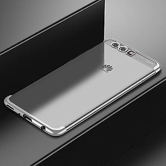 Cell phone cover case for Huawei P10 transparent transparent silver