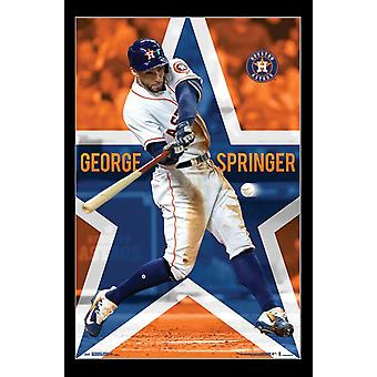 Houston Astros - George Springer Poster Print