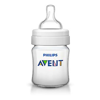 Philips SCF690/17 Classsic 4oz/125ml Avent Baby Feeding Bottle-Newborn Flow Teat