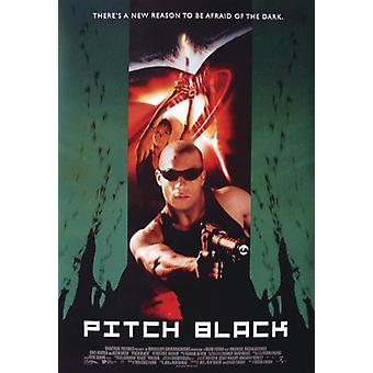 Pitch black poster Radha Mitchell, Vin Diesel, Cole Hauser