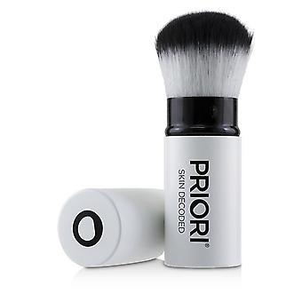 Priori Large Kabuki Brush (Retractable/White) - -