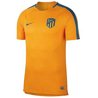 2018-2019 Atletico Madrid Nike Pre-Match Dry Training Shirt (Orange)