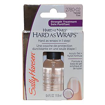 Sally Hansen Hard as Wraps Strength Treatment Acrylic Gel+Nylon 11.8ml Tint