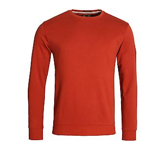 Weekend Offender Olivares Crew Neck Sweatshirt | Rust
