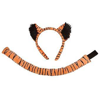 Bnov Tiger Set (Ears + Tail) Costume
