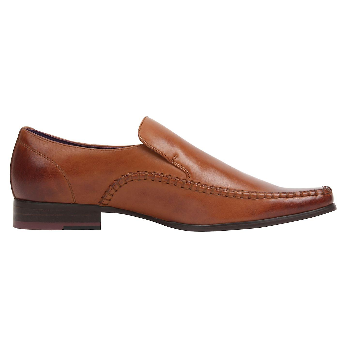 Firetrap Mens Hampton Sl chaussures Lace Up Smart Formal Loafers Footwear