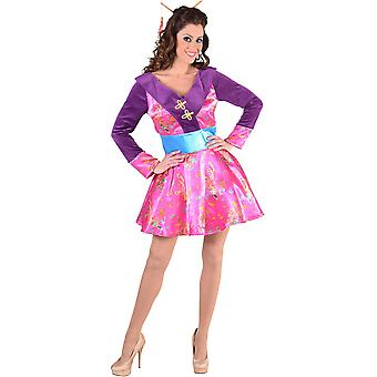 Women costumes  Sexy kimono dress up costume pink