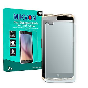 ZTE Axon Elite Screen Protector - Mikvon Clear (Retail Package with accessories) (reduced foil)