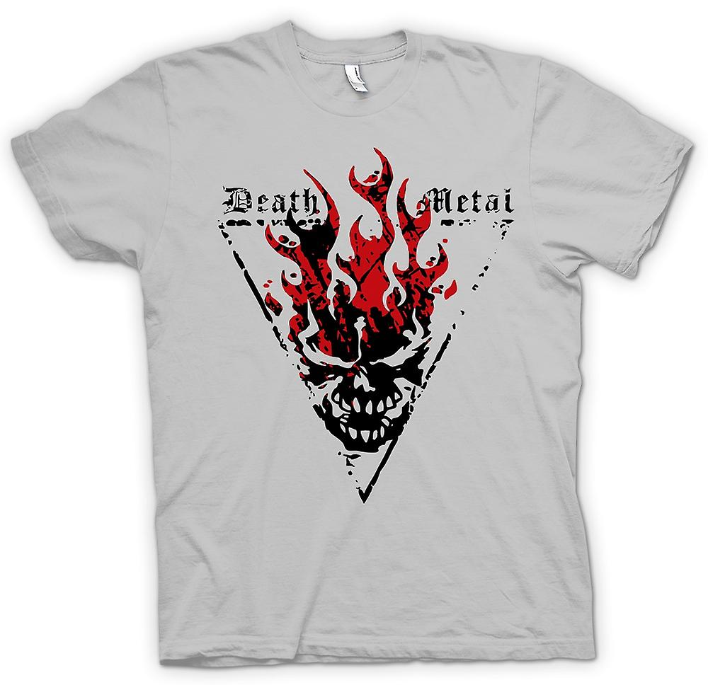 Mens T-shirt - Death-Metal - Thrash Devil Gothic