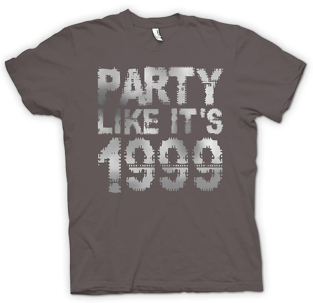 Cool mens t-shirt - fiesta como la de 1999-
