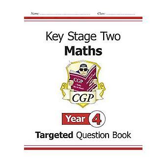 KS2 Mathematik gezielte Frage Buch - Jahr 4 von CGP Books - CGP Bücher-