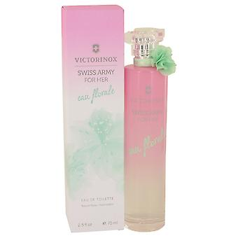 Swiss Army Eau Florale por Victorinox Eau De Toilette Spray 2.5 oz/75 ml (mujeres)