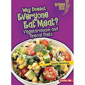 Varför inte alla äta kött?: Vegetarianism och Specialdieter (Lightning Bolt böcker sunda matvanor)