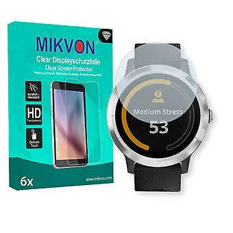 Garmin vivoactive 3 Screen Protector - Mikvon Clear (Retail Package with accessories)