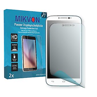 Alcatel One Touch Pop C9 Screen Protector - Mikvon Armor Screen Protector (Retail Package with accessories)