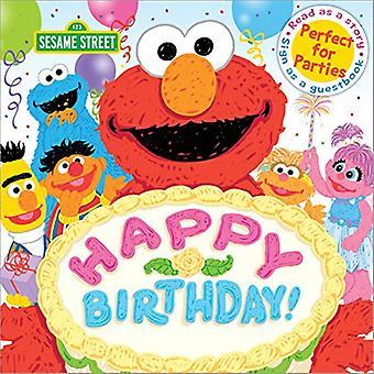 Happy Birthday!: A Birthday� Party Book (Sesame Street Scribbles)