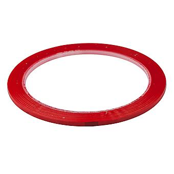 TRIXES 40m Self Adhesive Whiteboard Grid Gridding Marking Tape Red