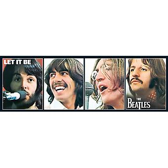Beatles Let It Be slim 1000 piece jigsaw puzzle   (nm)