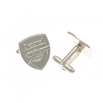 Arsenal Silver Plated Cufflinks CR