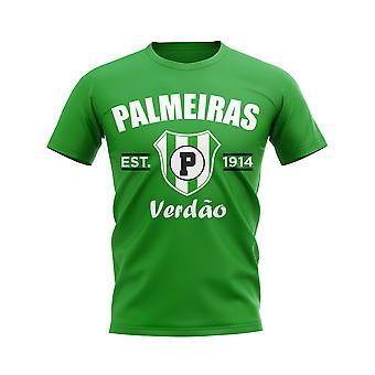 Palmeiras Established Football T-Shirt (Green)