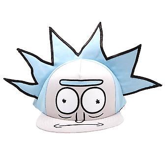 Rick and Morty 3D Hair Snapback Cap
