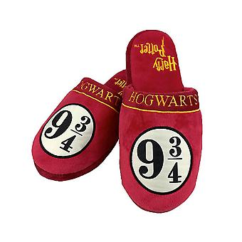 Harry Potter Platform 9 3/4 Mule Slippers  - ONE SIZE