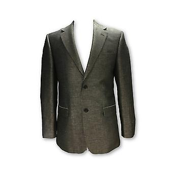 Cerruti fully structured jacket in grey/silver