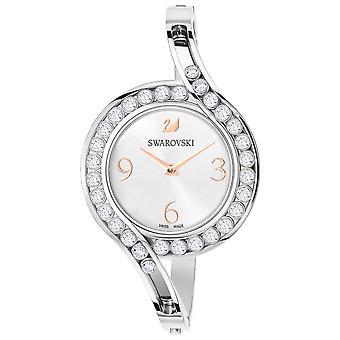 Swarovski Lovely cristaux bracelet montre - bracelet métal - blanc - argenté
