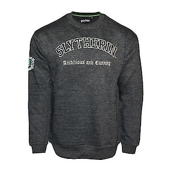 Hp201 licensed unisex harry potter™ slytherin™ embroidered sweatshirt