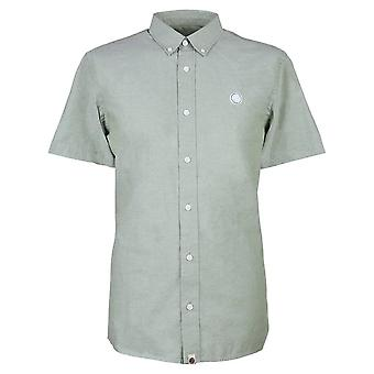 Pretty Green Short Sleeve Classic Fit Oxford Shirt