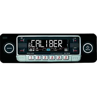 Car stereo Caliber Audio Technology RCD-110 Schwarz Retro design